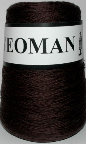Yeoman Sport  Pure Virgin Merino Wool - Chocolate